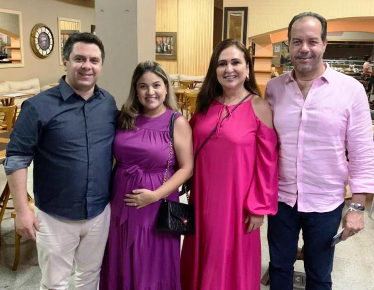 Encontro entre senadora Kátia Abreu e Tiago Dimas, em Araguaína
