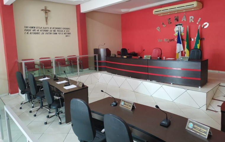Plenário da Câmara Municipal de Xambioá (TO)