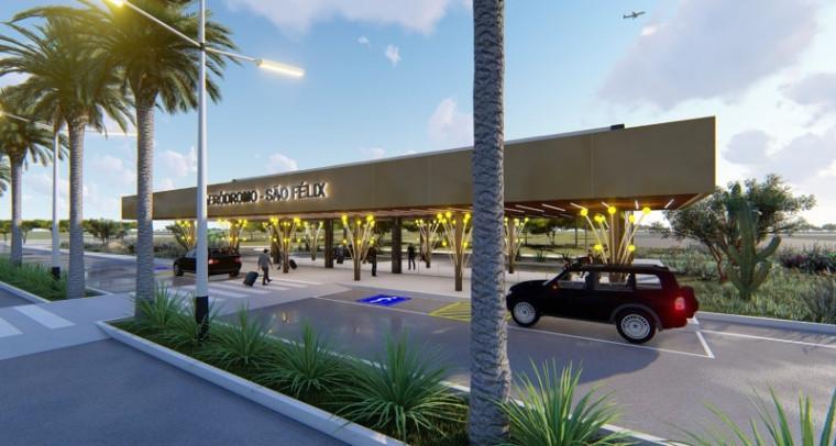Projeto do Aeroporto de São Félix do Tocantins