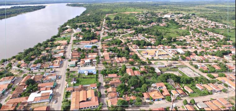 Cidade de Araguanã, norte do Tocantins