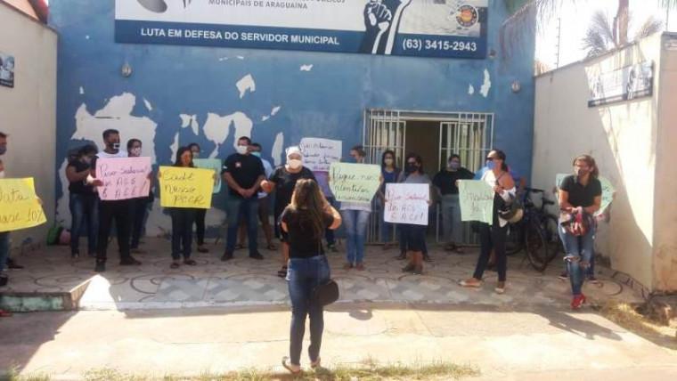 Manifestação dos servidores