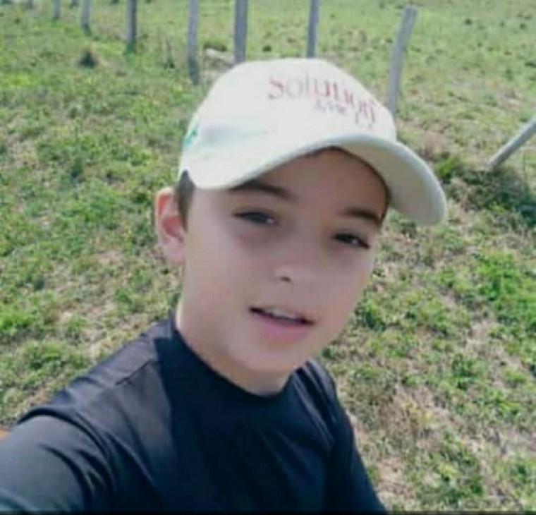 Marcos Fernando Alves Costa tinha apenas 10 anos de idade