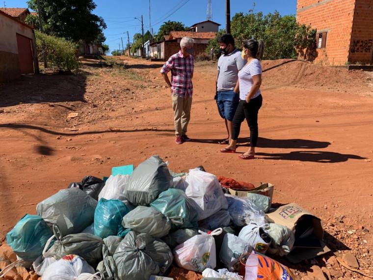 Ferreirinha fez um levantamento das ruas que precisam de asfalto