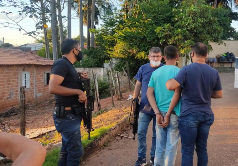 Investigado estava em Araguaína