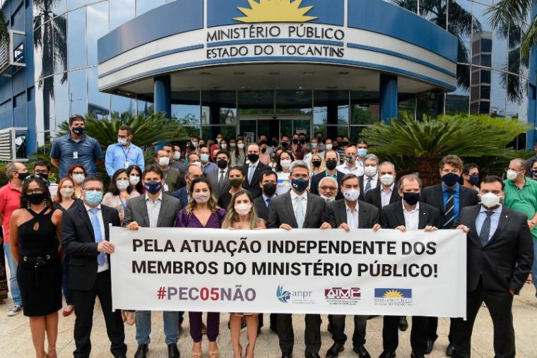 Manifestação em Palmas