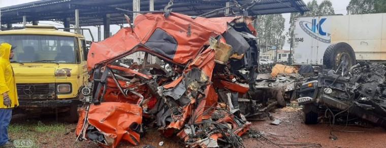 Acidente ocorreu na BR-153
