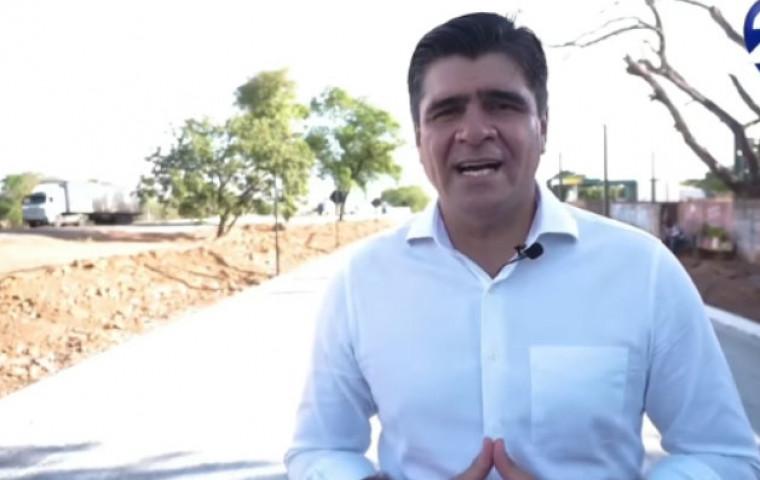 A Ação sustenta que o filho do prefeito reeleito Paulo Antônio (DEM) foi o mandante do crime