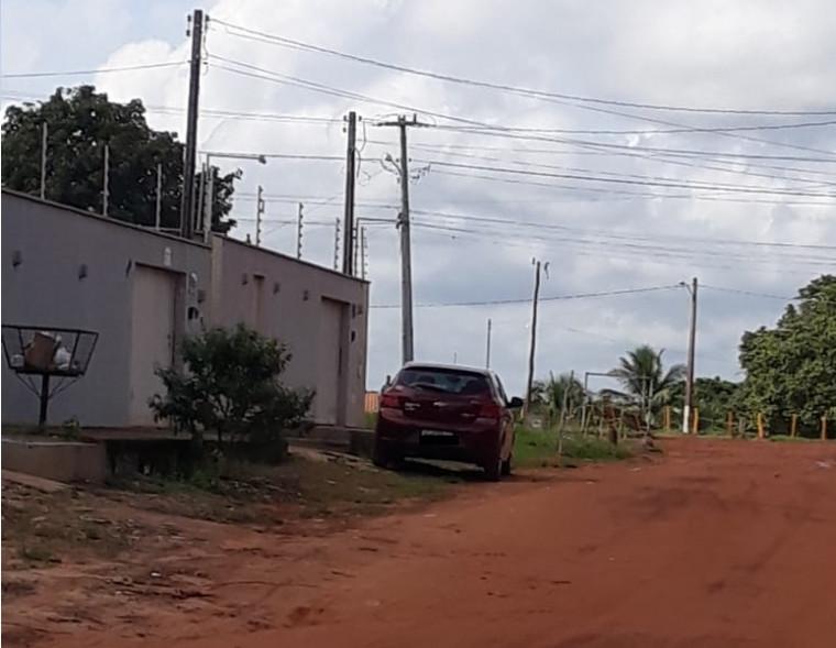 Sede da empresa DCCA (onde o carro está estacionado)