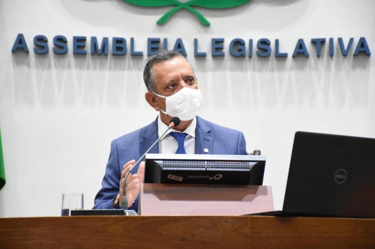 Presidente da Assembleia Legislativa, Antonio Andrade (PTB)