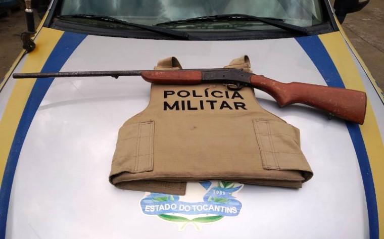 Armas de fogo foram apreendidas durante as ações