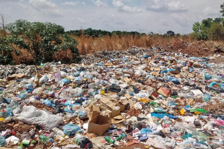 Lixão do município de Sucupira do Tocantins