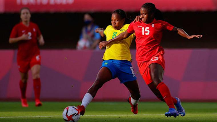 O Brasil ocupa a 12º posição, conquistando um ouro olímpico nesta edição