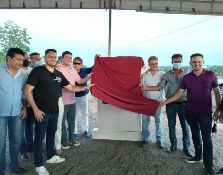 Lançamento da pedra fundamental do clube da OAB em Colinas