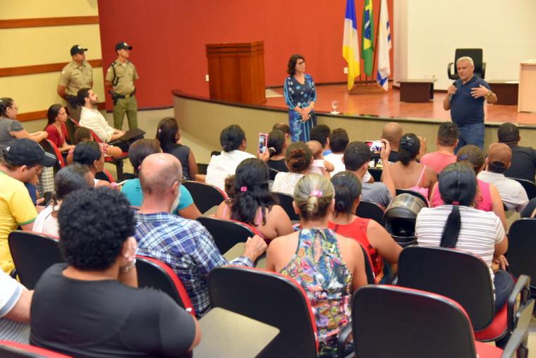 Reunião no Ministério Público Estadual (MPE)