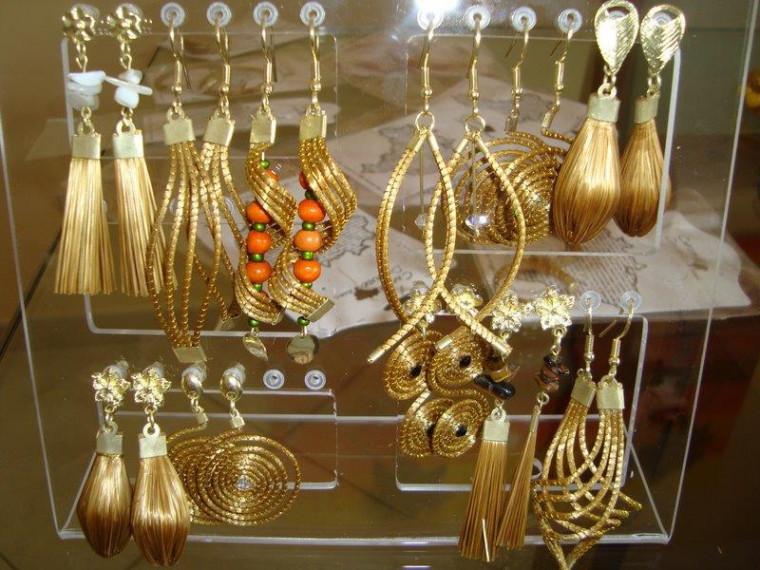 As peças são produzidas no Jalapão