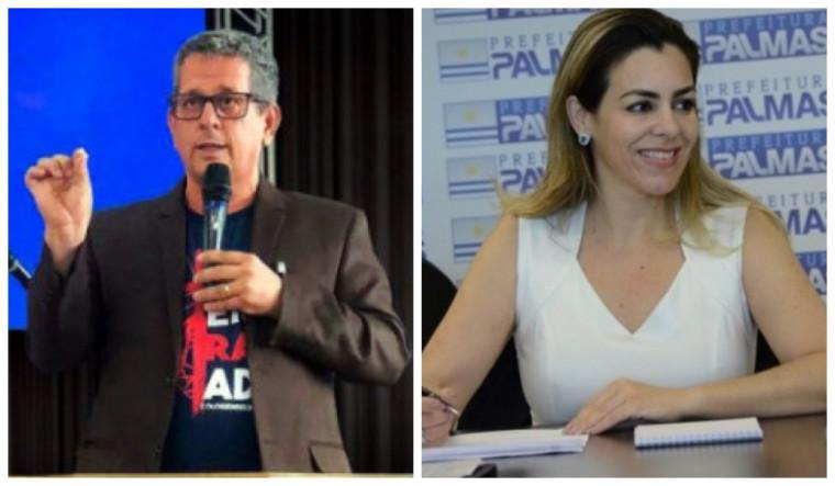 Lasaro Quirino (Avante) e Cinthia Ribeiro (PSDB)