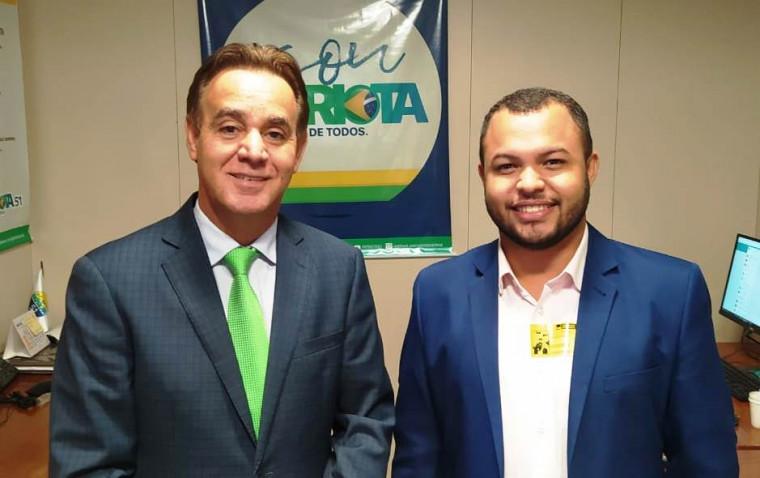 Adilson Barroso e Walison Silva