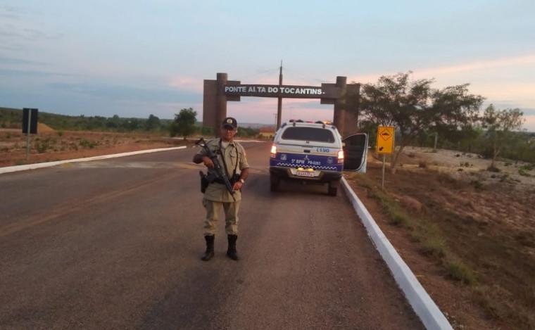 Policial Militar em Ponte Alta do Tocantins