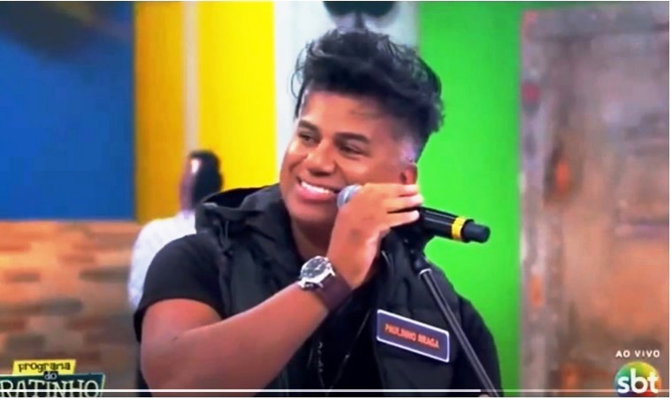 Cantor araguainense Paulinho Braga