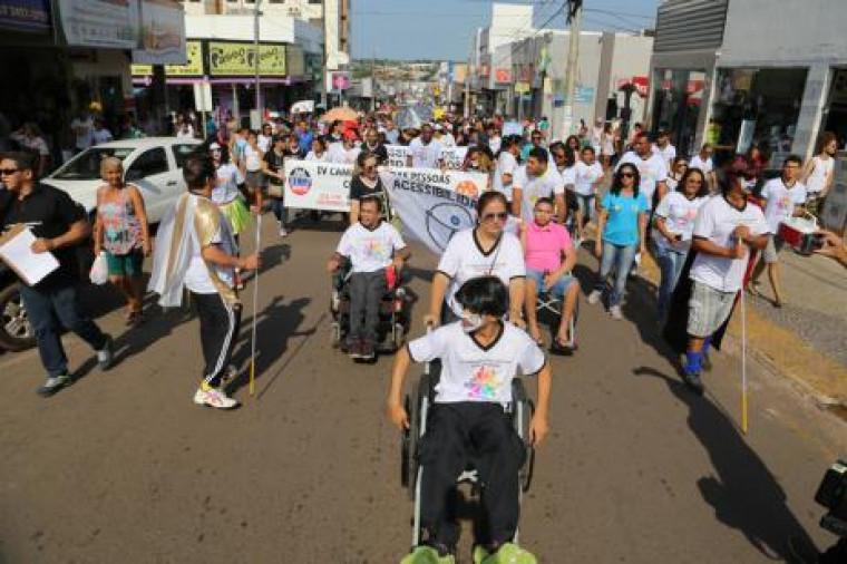 Semana sobre a conscientização dos direitos da pessoa com deficiência terão vários eventos.