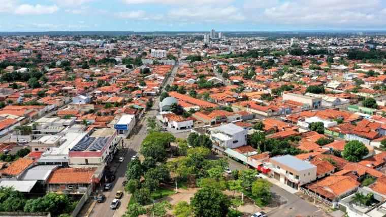 Vista aérea da cidade de Araguaína