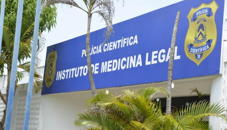 Fachada do IML de Palmas