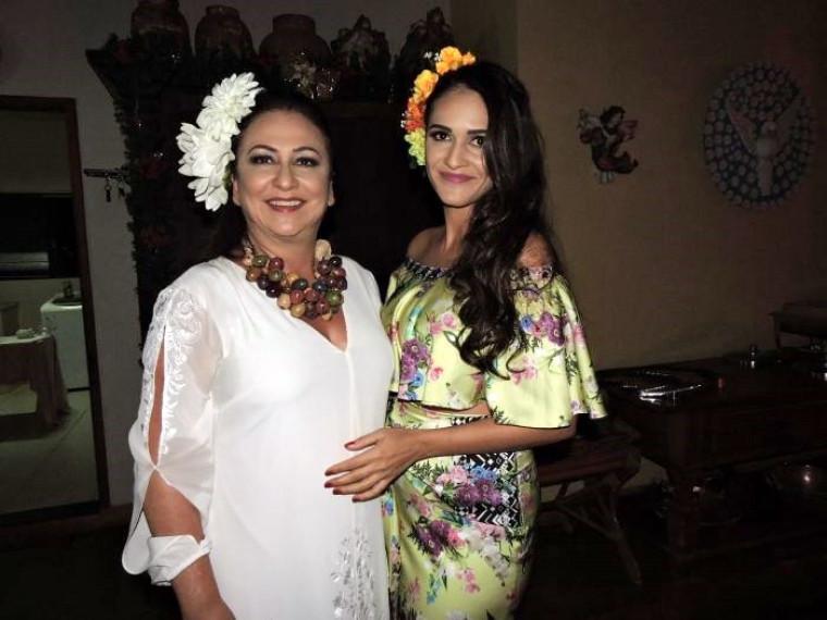 Kátia Abreu e a filha, Iana