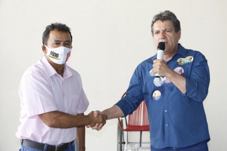 Elenil recebeu apoio de Osires Damaso na disputa para prefeito de Araguaína em 2020