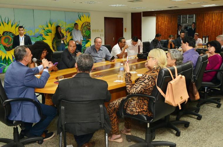 Andrade também anunciou ações para aproximar o Legislativo da população tocantinense