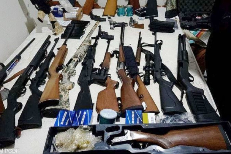 Operação apreendeu dezenas de armas de grosso calibre